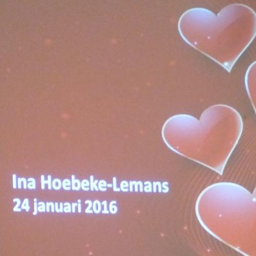 Deel 2 aanbieding cd 'Jij bent geliefd'.  Ina Hoebeke-Lemans. Kerk Nieuw- en  Sint Joosland 29082018
