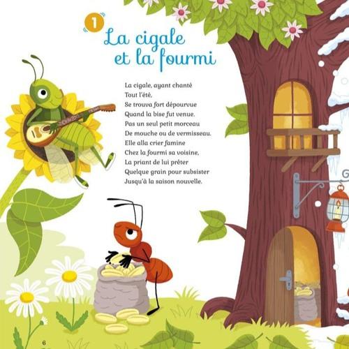 Poeme La Cigale Et La Fourmi Jean De La Fontaine By