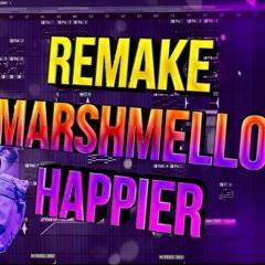 Marshmello ft.Bastille - Happier (Instrumental by MikeeQ)