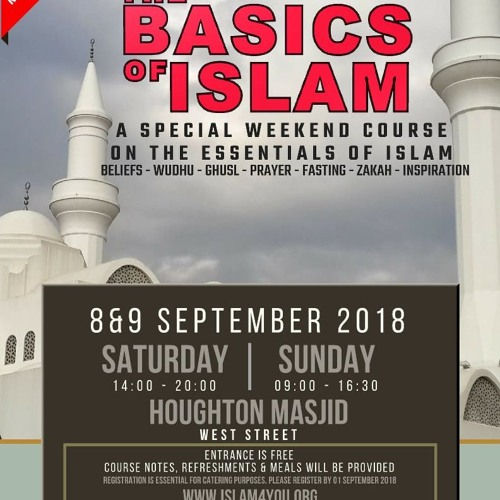 Basics of Islam Weekend Course - Registration Open by Radio Islam