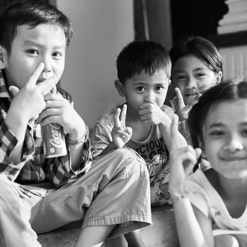 Eine Zellerin in Kambodscha