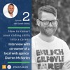 How to convert your coding skills into a career - Interview with Darren McSorley | WebTalksNI  2