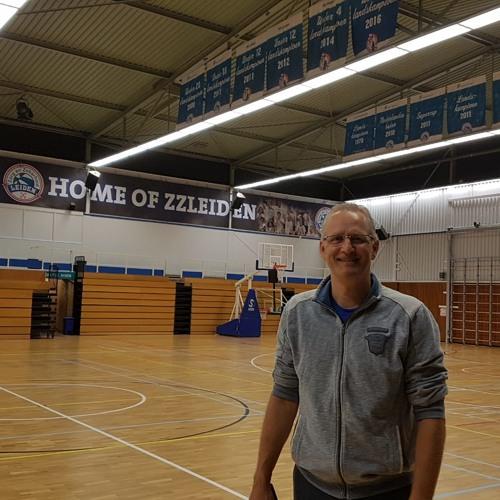 2018 - 08 - 30 Coach Rolf Franke blikt vooruit op nieuw seizoen Zorg en Zekerheid Leiden Basketball