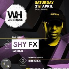 DJ Hannibal - Shy FX @ Switch Live Recording
