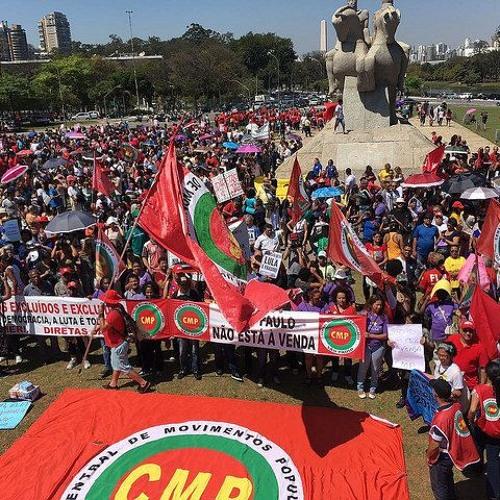 Em São Paulo, atos do Grito dos Excluídos iniciam na manhã do dia 7 de setembro