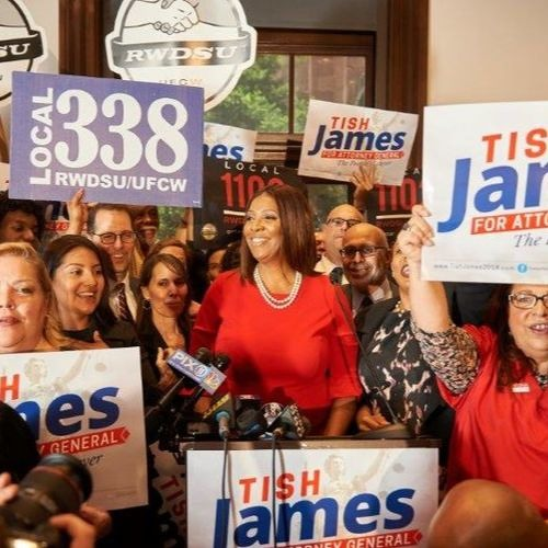 8 - 11 - 18: Tish James, Public Advocate for the City of NY