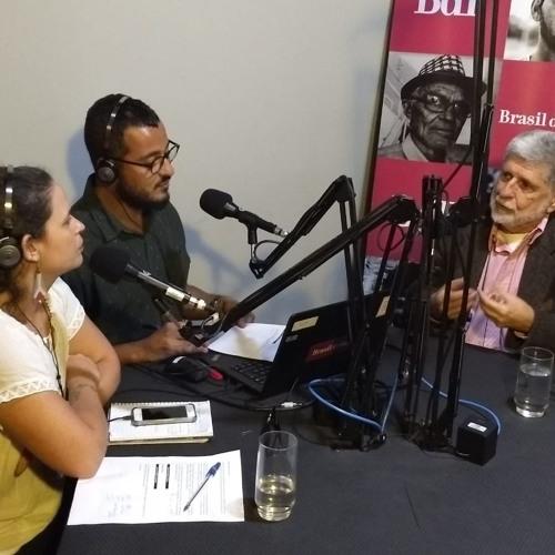 Ex-chanceler Celso Amorim é o primeiro entrevistado do programa No Jardim da Política
