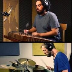 Drums & santour  درامز و سنتور with drummermartijn