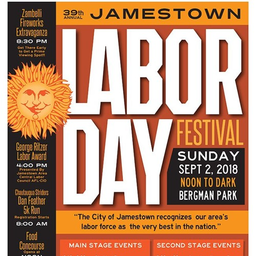 Community Matters - 2018 Greater Jamestown Labor Day Festival Preview