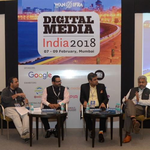 Siddharth Varadarajan (The Wire), Himanshu Gautam (Amar Ujala), Arpan Chatterjee (The Hindu)