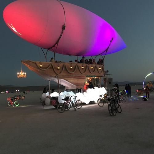 Burning Man Sonic Runway Aboard Airpusher 2018
