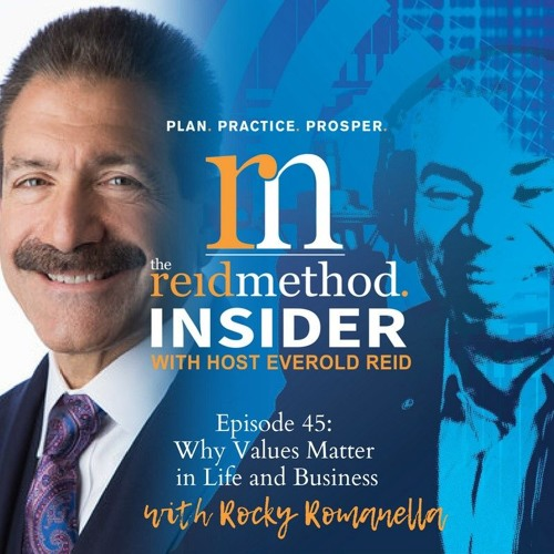 "EPS: 45 Rocco Romanella Joins Everold Reid to discuss ""Why Values Matter In Life And Business"""