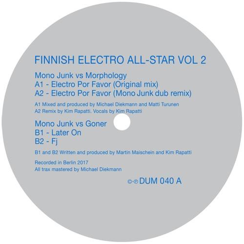 FINNISH ELECTRO ALL-STAR VOL 2  -  DUM-040