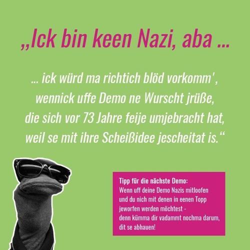 Ich Bin Kein Nazi, Aber... (T - Jah & Pupa Sock Chemnitz Exclusive)