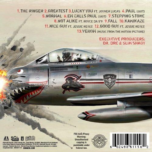 Eminem Venom Sound Track Free Download: Eminem – Kamikaze By HIP HOP REPOST