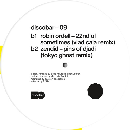 b1 robin ordell - 22nd of sometimes (vlad caia remix) (audio snippets)