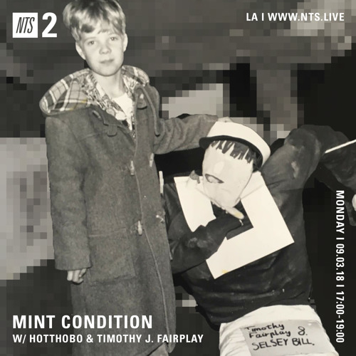 Mint Condition: The Timothy J. Fairplay Interview (NTS)