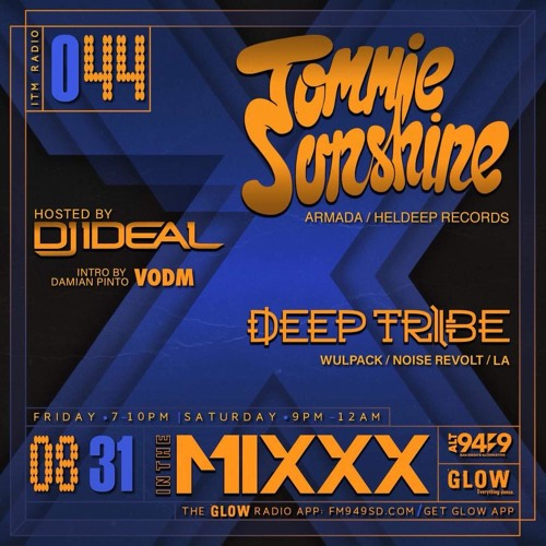 """Deep Tribe For """"In The Mixxx"""" Radio Show [Free Download]"""