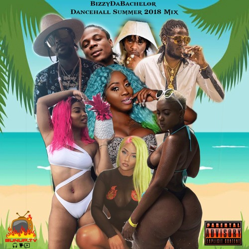 BizzyDaBachelor Summer Dancehall Mix 2018(Rygin King,Popcaan