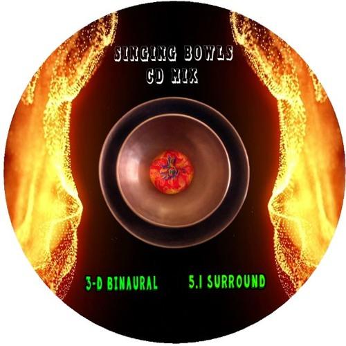 SINGING BOWLS CD (3D Binaural / 432 Hz Tuning)