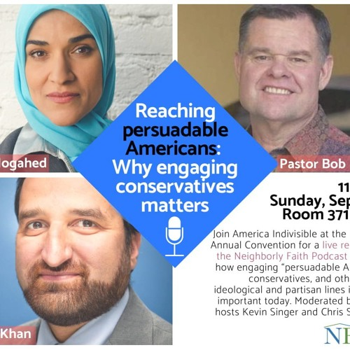Can Evangelicals Be Persuaded About Muslims? Panel at ISNA 55 - Part 1