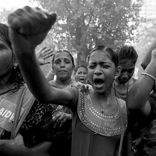 Ato pelo fim da violência contra a mulher reúne milhares na Índia