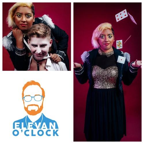 Elevan O'Clock #34 Creatrix Tiara - Queer Lady Magician