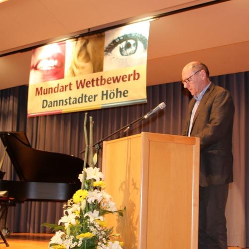 """Platz 1: Norbert Schneider mit """"De 'Kartparre', de Luther unn das nei Gleichnis..."""""""