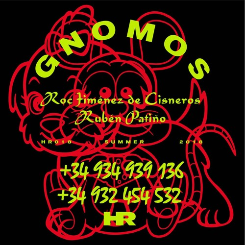[HR018 - OUT SEPTEMBER 21st]  Roc Jiménez De Cisneros & Rubén Patiño - GNOMOS - 4