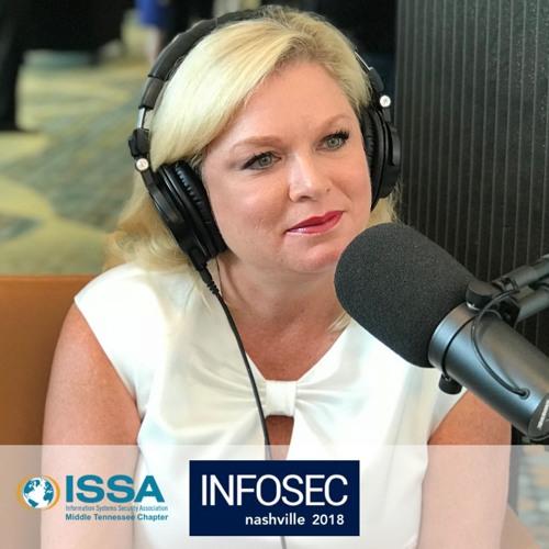 Marci McCarthy at InfoSec Nashville 2018