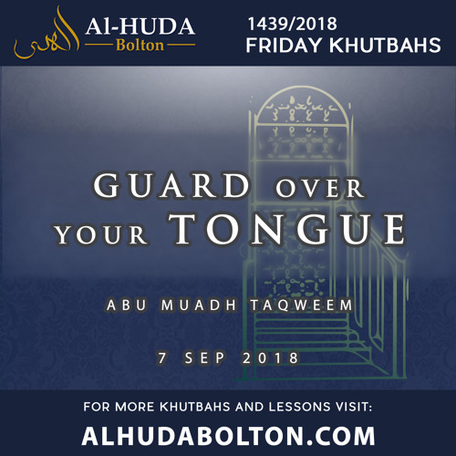 Guard Over Your Tongue