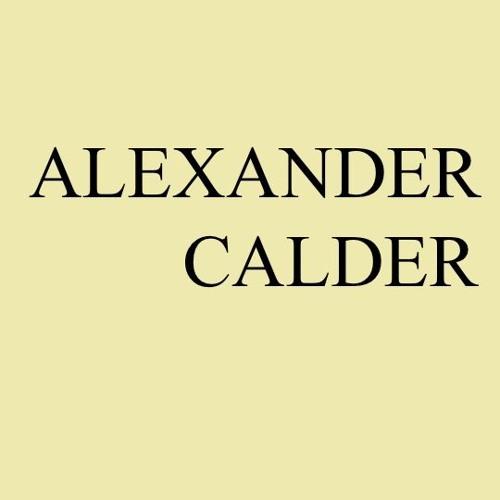 2. Calder Y El Dibujo