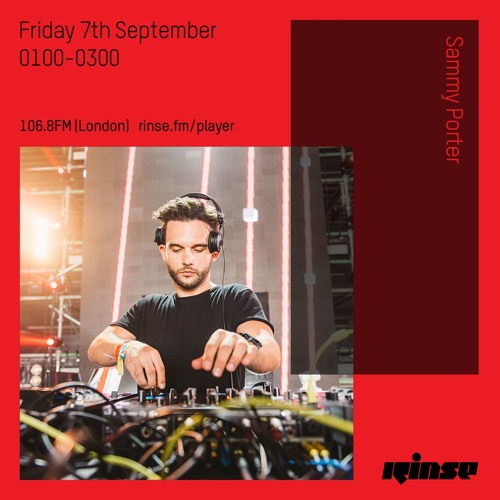 Sammy Porter - Friday 7th September 2018