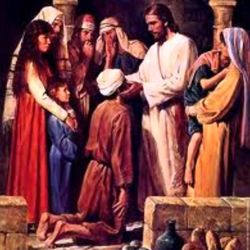 23rd Sunday Ordinary Time - How Baptism opens our eyes and allows us to speak.