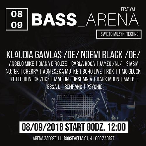 Siasia - Live at Bass Arena (Zabrze/PL, 08.09.2018)