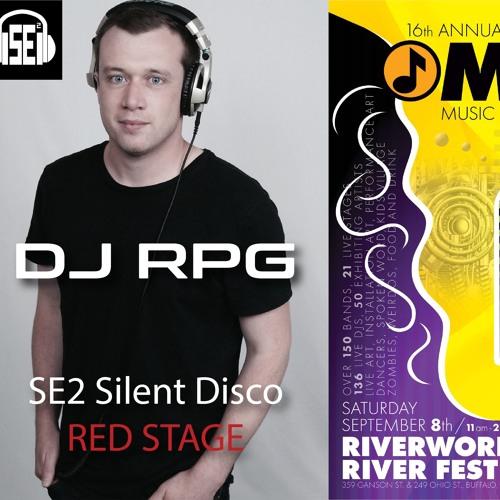 DJ RPG - Live @ Music is Art Festival (SE2 Silent Disco) (Buffalo, NY) [9.8.18]