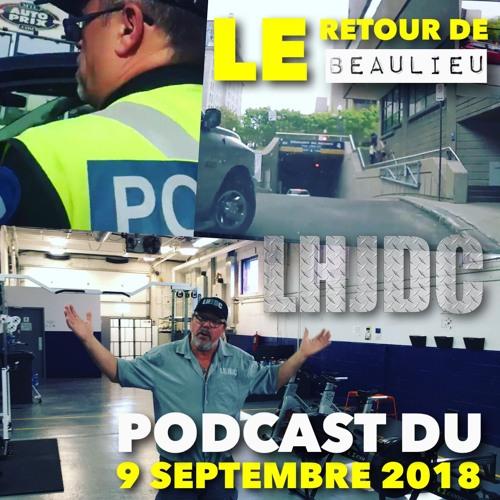 LHJDC Podcast du 9 septembre 2019 « Le retour de Dan