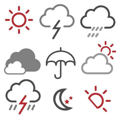 Previsão do tempo para segunda-feira (10)