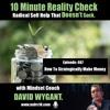 How To Strategically Make Money