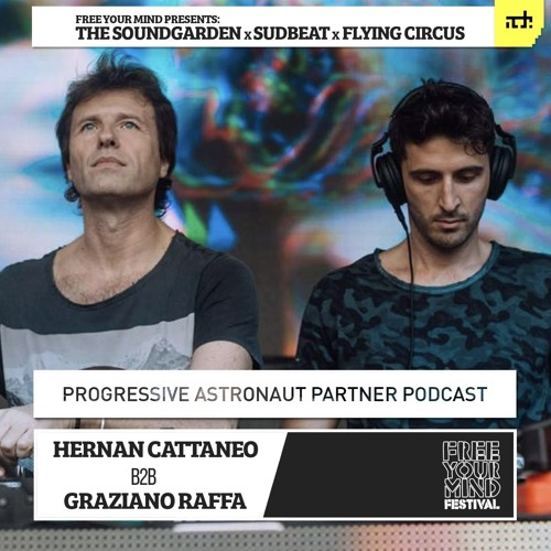 Hernan Cattaneo B2B Graziano Raffa - FreeYourMind: ADE Podcast #01
