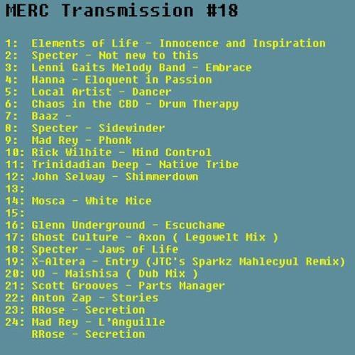 MERC Transmission #18