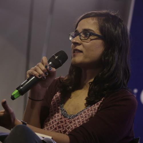 Carolina Sanín lectura en voz alta Fiesta del Libro 2018