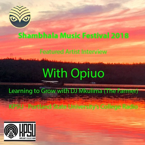 Outlooks with Opiuo - Shambhala 2018 Featured Artist Interview