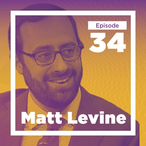 34 - Matt Levine Live at Bloomberg HQ