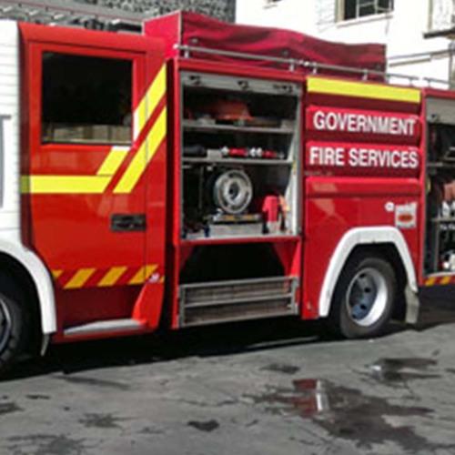 Le Mauritius Fire and Rescue Service se dotera de cinq nouveaux camions