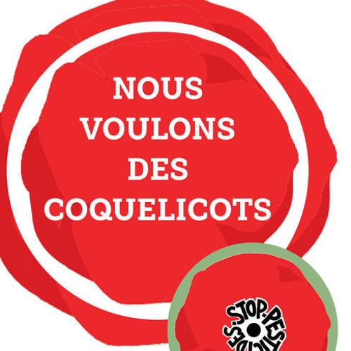 Anaïs Ledoux - Le Fil Vert - Nous voulons des coquelicots ! - 12/09/2018