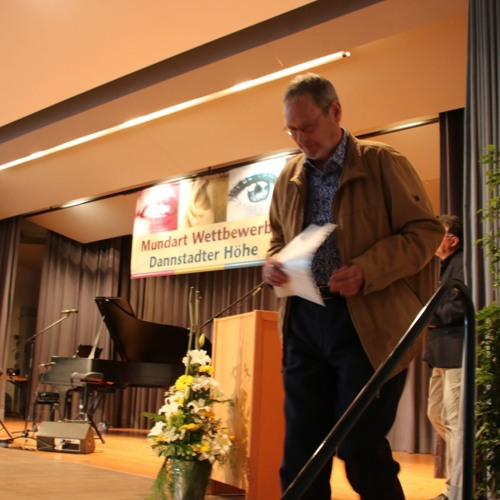 "Platz 5: Norbert Naumann mit ""Fer disch nemm isch mer Zeit"""