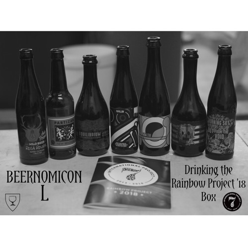 Beernomicon L - Drinking the Rainbow Project 2018 Box