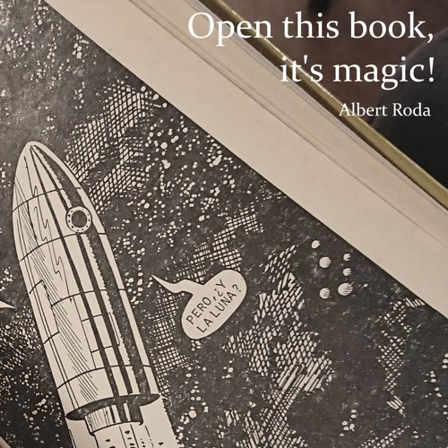 Open this book, it's magic!