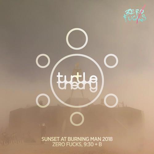 turtletheory - Sunset @ Burning Man 2018 (Zero Fucks, 9:30 + B)
